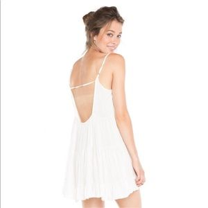 Brandy Melville White Jada Dress